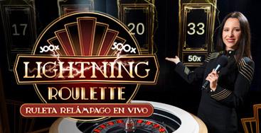 Juega a Ruleta Relámpago en Vivo en nuestro Casino Online