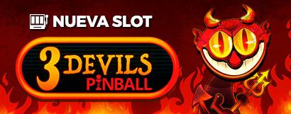 Slot 3 Devils Pinball