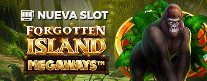 Slot Forgotten Island Megaways