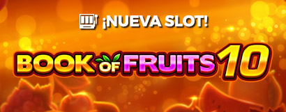 Slot Book of fruits 10