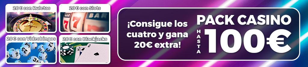 Gana 100€ desbloqueando los premios de esta promoción de Casino online