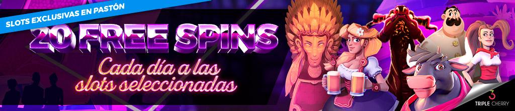 Te regalamos 20 Free Spins para la Slot seleccionada cada día
