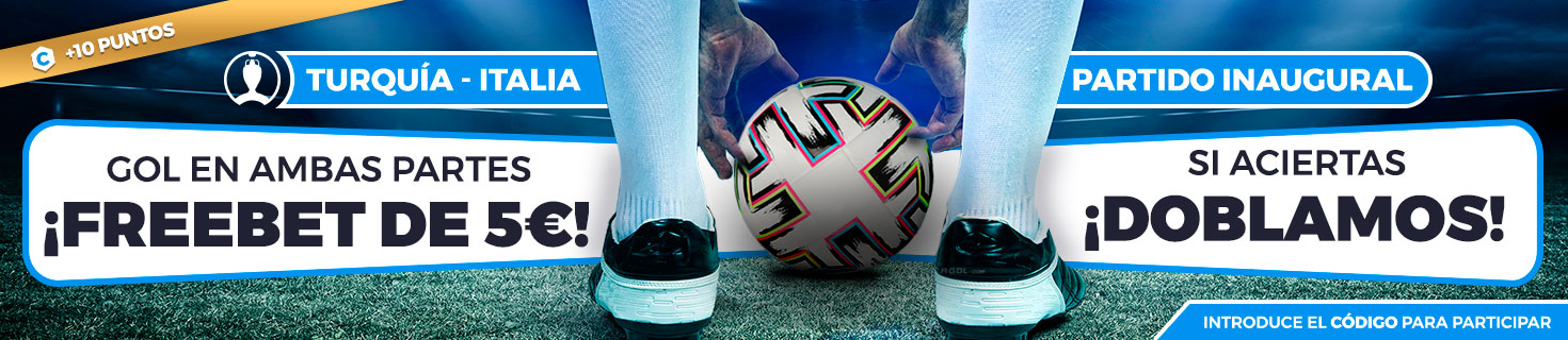 Promoción para tus apuestas de futbol: gol en ambas mitades, Freebet, si aciertas, doblamos