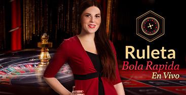 Juega a Ruleta Bola Rapida en Vivo en nuestro Casino Online